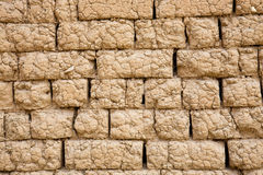 Adobe brick wall Stock Images