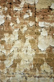 Adobe brick wall. An adobe brick wall of a building Stock Photography