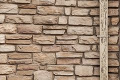 Adobe Brick wall texture background, abstract stock photo