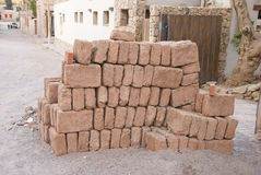Adobe bricks Stock Photo