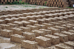 Adobe bricks Royalty Free Stock Images