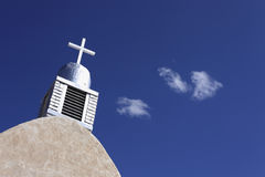 Adobe Church Cross Royalty Free Stock Photography