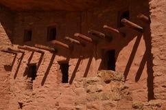 Adobe Dwelling. Adobe Indian Dwelling in Colorado Royalty Free Stock Photos