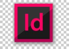 Adobe en software del diseño del icono del diseño stock de ilustración