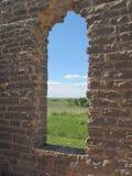 Adobe-Fenster in ruiniertem Gebäude Lizenzfreie Stockfotografie