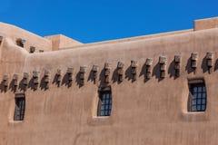 Adobe-Gebäude Lizenzfreies Stockfoto