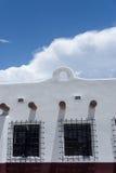 Adobe-Gebäude in Alamogordo Stockbilder