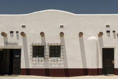 Adobe-Gebäude in Alamogordo Lizenzfreies Stockbild