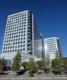 Adobe-Gebäude in San Jose, Kalifornien Stockfotografie