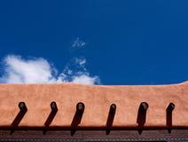 Adobe-Gebäudedetail Lizenzfreie Stockfotografie