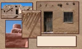 Adobe-Gebäudeplan Lizenzfreie Stockbilder