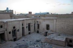 Adobe-Häuser in Yazd Lizenzfreie Stockfotografie