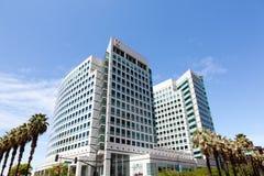 Adobe högkvarter i San Jose, Kalifornien arkivbild