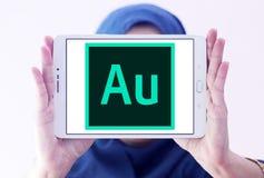 Adobe-Hörprobenlogo Stockfotografie