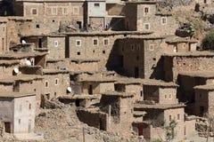 Adobe-Haus in Marokko Lizenzfreie Stockfotos