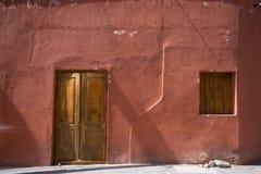 Adobe-Haus in Mexiko Lizenzfreie Stockbilder