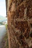 Adobe-Haus in Ohrid, Mazedonien Alte Dörfer Stockfotografie