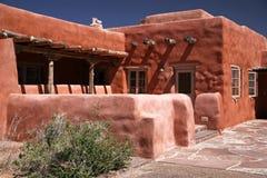 Adobe-Haus, Pueblo Lizenzfreie Stockfotos