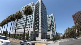 Adobe Headquarters entrance stock footage