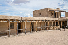 Adobe - Historic Old Bents Fort Colorado. Vintage old west western adobe architecture. Taken at Old Bent Fort / National Landmark outside La Junta in Southern Stock Photography
