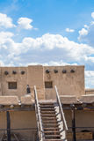 Adobe - historisches altes Bent& x27; s-Fort Colorado Stockfotografie