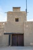 Adobe - historisches altes Bent& x27; s-Fort Colorado Stockfotos
