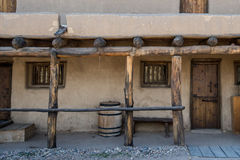 Adobe - historisches altes Biegungs-Fort Colorado Lizenzfreie Stockfotos