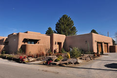 Adobe Home. In Las Cruses,New Mexico Stock Photos