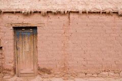 Adobe House. In North Weast Argentina Stock Photos