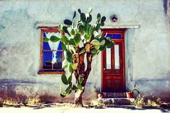 Adobe House Stock Photography