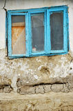 Adobe house detail with window Royalty Free Stock Photos