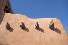 Adobe house in New Mexico Royalty Free Stock Photos