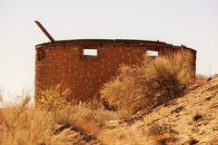 Adobe hut. Stock Photo