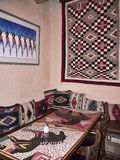 Adobe Interiort in Santa Fe New Mexiko USA Stockbild
