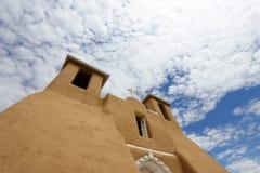 Adobe-Kirche Stockbilder