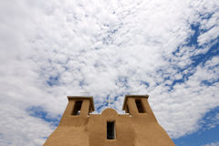 Adobe-Kirche Lizenzfreies Stockbild