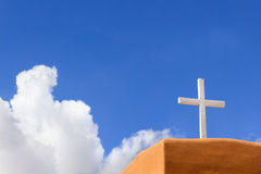 Adobe-Kirche Lizenzfreie Stockfotos