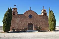 Adobe-Kirche Stockfotografie