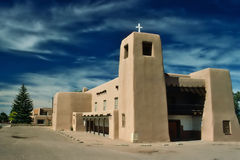 Adobe-Kirche Stockfoto