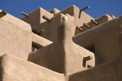 Adobe konstruierte Gebäude Stockbilder
