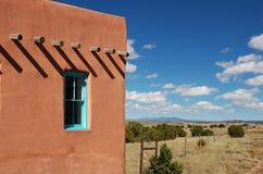Adobe-Landschaft Lizenzfreie Stockfotografie