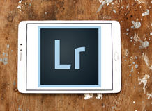 Adobe lightroomlogo Arkivfoto