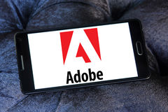 Adobe-Logo Stockfotos