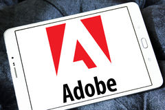 Adobe-Logo Stockbild