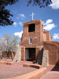 Adobe Mission. In Santa Fe, New Mexico Royalty Free Stock Photography