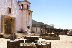 Adobe Mission. Adobe christian mission in desert southwest Royalty Free Stock Photos