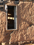 Adobe okno i ściana Obraz Royalty Free