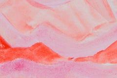 Adobe Photoshop für Korrekturen Rote und rosa Steigung Stockbild