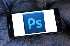 Adobe photoshop logo stock image