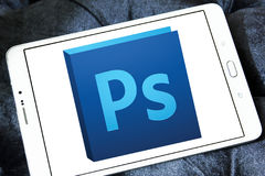 Adobe photoshop logo royalty free stock photos